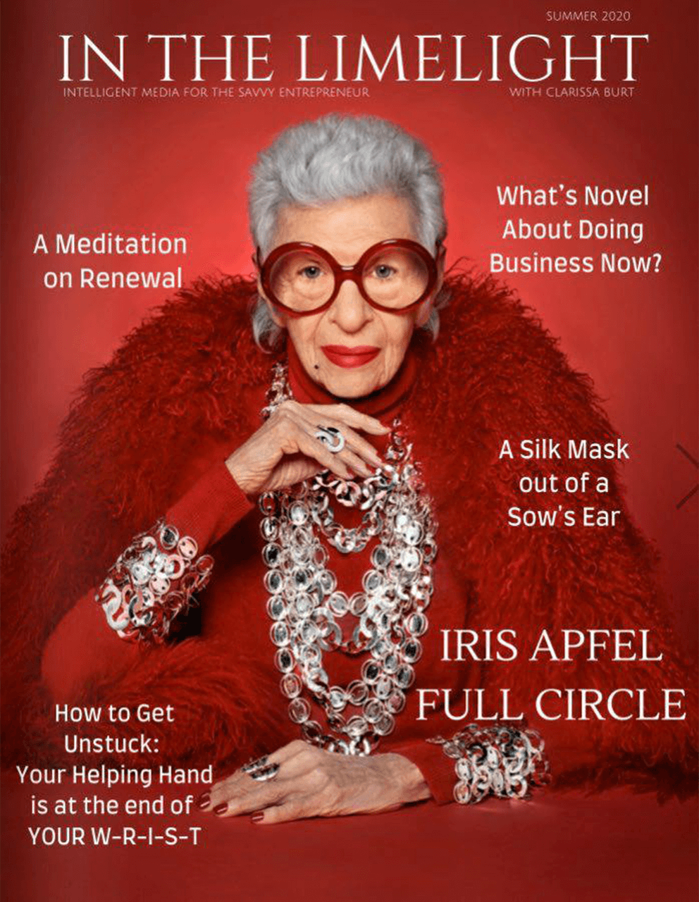 In the Limelight Magazine Cover